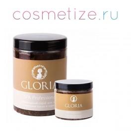 Скраб антицеллюлитный с кофеином и маслом карите Gloria 1000мл
