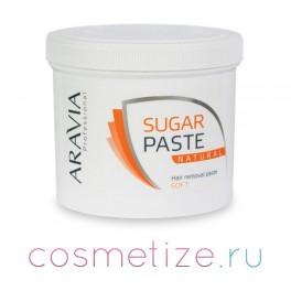 Сахарная паста натуральная ARAVIA Professional для депиляции мягкой консистенции 750 г фото