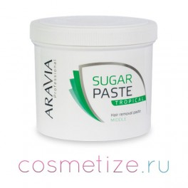 Тропическая сахарная паста Aravia средней консистенции фото
