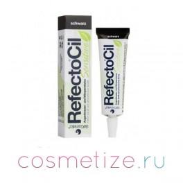 Краска для бровей и ресниц Черная RefectoCil Sensitive