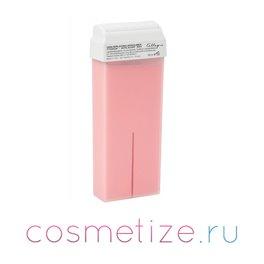 Розовый теплый воск Skin System 100 мл