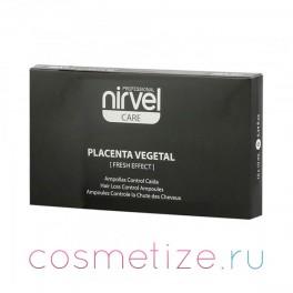 Ампулы Nirvel против выпадения волос и жирности кожи головы с плацентой 10*10мл (стекло)