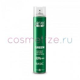 Лак для волос Nirvel средней фиксации GREEN BASIC 500 мл