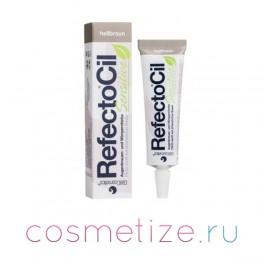 Светло-коричневая краска для бровей и ресниц RefectoCil Sensitive