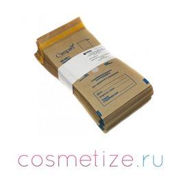 Фото крафт-пакетов бумажных самоклеющихся 75*150 (коричневые) 100 шт