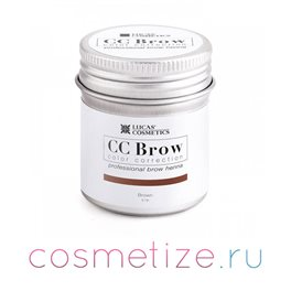 Фото хны для бровей CC Brow (brown) в баночке (коричневый) 5 г