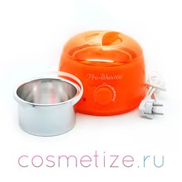 Оранжевый воскоплав для банок на 400 мл ProWax 100