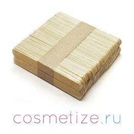 Деревянные шпатели компакт средние 10х114 мм 100 шт