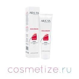 Фото крема против вросших волос с АНА кислотами, туба 100 мл, ARAVIA Professional